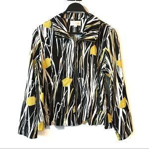 2/$40 Erin London Yellow Tulip Light Jacket